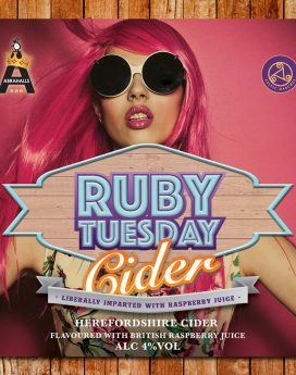 Ruby Tuesday Raspberry Cider