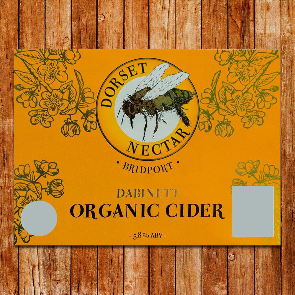 Dabinett Organic Cider