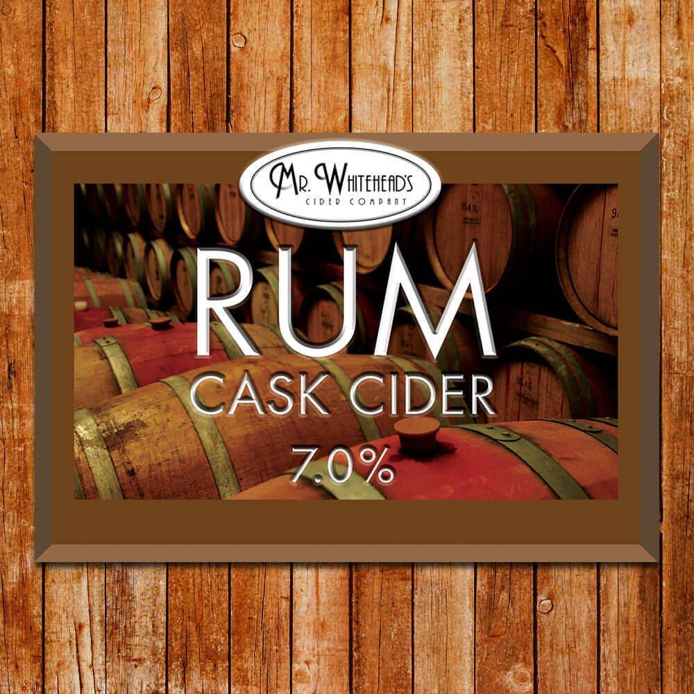 Rum Cask Cider