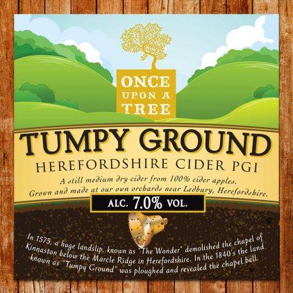 Tumpy Ground Draught Cider