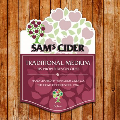 Sam's Draught Cider Medium