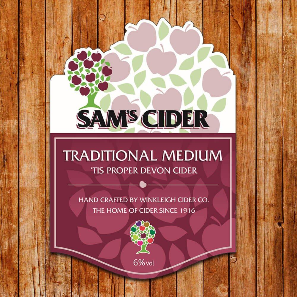 Sam's Draught Cider Medium
