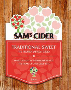 Sam's Draught Cider Sweet