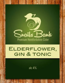 Elderflower Gin & Tonic