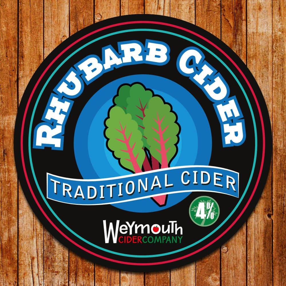 Rhubarb Cider