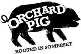 Orchard Pig. Rooted in Somerset
